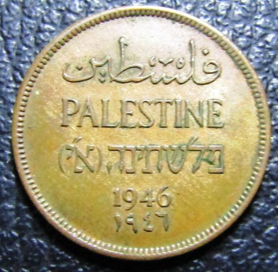 Palestina Moneda 1 Libra 1946 Au