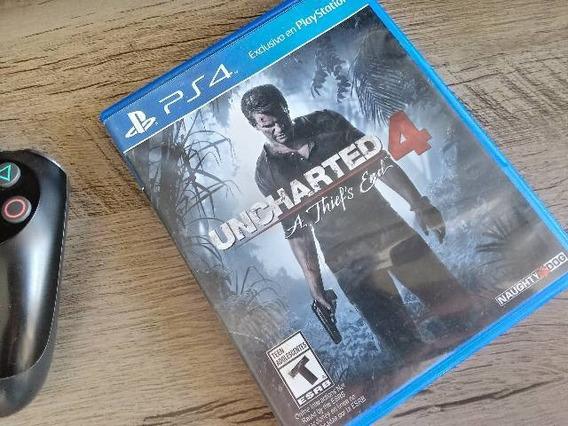Jogo Ps4 Uncharted 4: A Thief