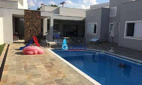 Casa Residencial À Venda, Condomínio Portal Da Vila Rica, Itu. - Ca0280