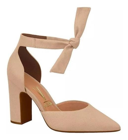 Sapato Bico Fino Vizzano Luxo Moda Feminina 1285105