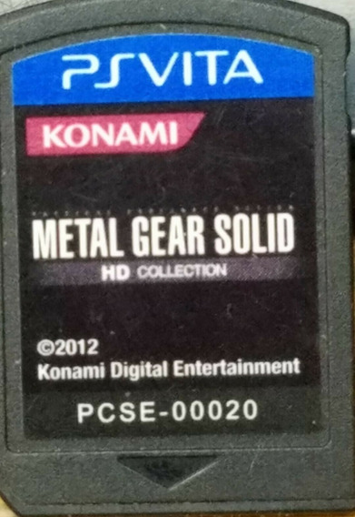 Ps Vita Metal Gear Solid Hd Collection