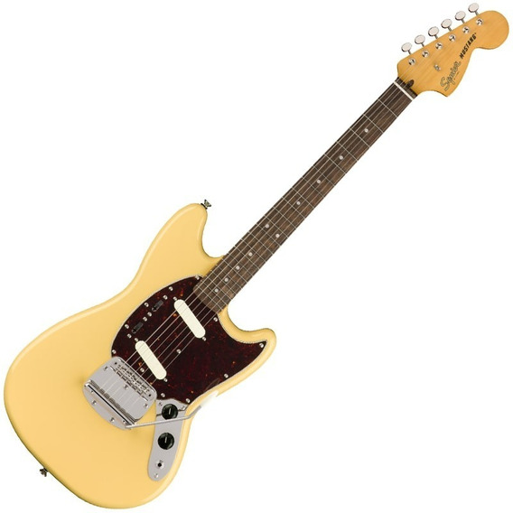 Guitarra Fender Squier Classic Vibe 60s Mustang Vintage Whit