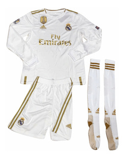 Uniforme De Real Madrid Con Medias 2019 Envio Gratis
