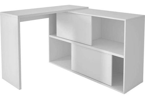 Mesa Para Computador Com 2 Portas Bc 44 - Brv Móveis