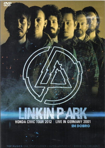 Dvd Linkin Park Honda Civic Tour 2012 Germany 2001 Em Dobro