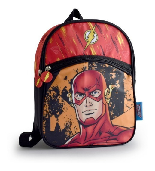Mochilas Ideal Jardín Liga De La Just Batman Flash Superman