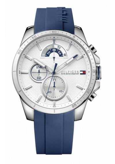 Relógio Tommy Hilfiger Masculino Borracha Azul - 1791349