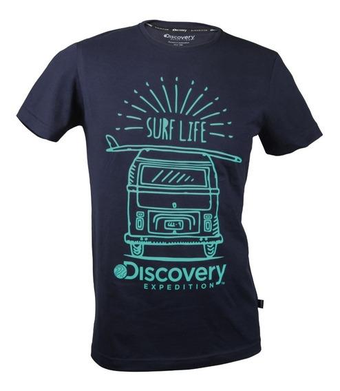 Playera Discovery Surf Life