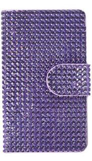 Asmyna Diamonds Bookstyle Myjacket Wallet Con Ranura Para Ta