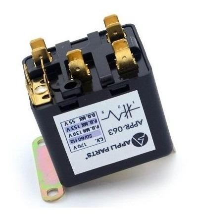 Relay Potencial 50/60hz Ccv170 Min P.u. 139 Max P.u. 153 Max