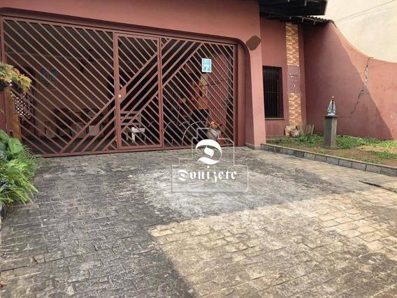 Casa Com 5 Dormitórios À Venda, 450 M² Por R$ 1.700.000,00 - Campestre - Santo André/sp - Ca0076