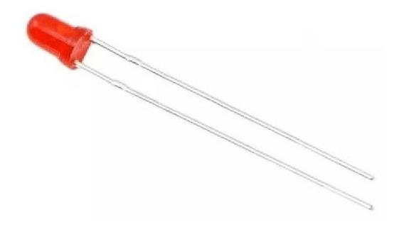 10 X Led 3mm Rojo
