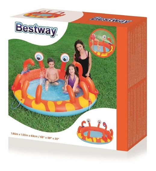 Inflables Play Center Cangrejo 5506 Bestway 53058 Cuotas