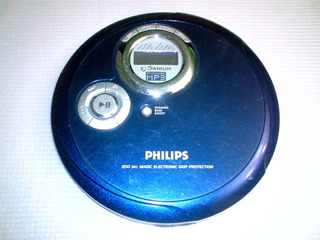 Personal Cd Philips Expanium Mp3