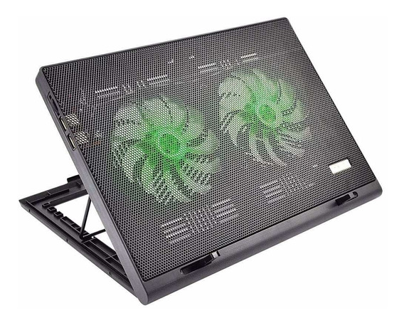 Cooler Notebook Warrior Power Gamer Led Luminoso