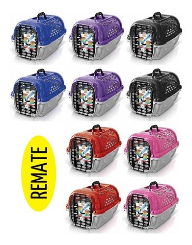 Remate Lote 10 Transportadoras Perro Plast Pet Panther Air 3