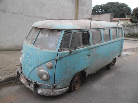 Vw Kombi Corujinha P/ Reformar Ou Tirar Peças S/ Motor Samba