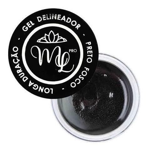 Delineador Em Gel Miss Lary Kit Com 6 Unid