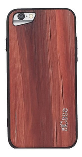 Funda Dúo Diseño Madera Wood P/ iPhone 6 Plus