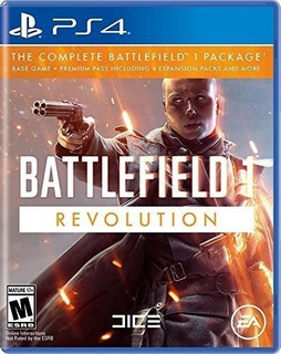 Battlefield 1 Revolution Ps4 Nuevo Fisico Sellado