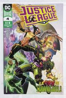 Justice League #4 Dc Universe New Justice