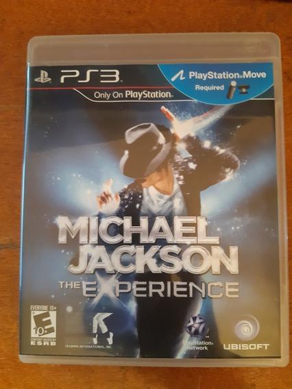 Michael Jackson The Experience Ps3 Mídia Física Original
