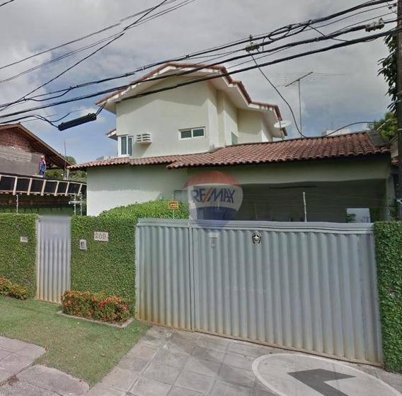 Casa Para Vender No Poço Da Panela, 04 Quartos - 3 Suítes, 275 M², Próximo À Praça De Casa Forte - Ca0028
