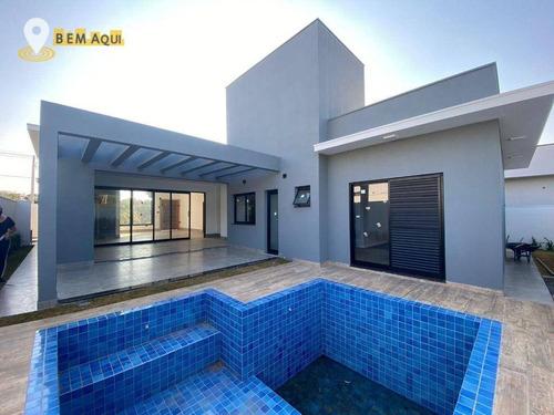 Imagem 1 de 30 de Casa Com 3 Dormitórios À Venda, 215 M² Por R$ 1.590.000,00 - Residencial Saint Paul - Itu/sp - Ca1594