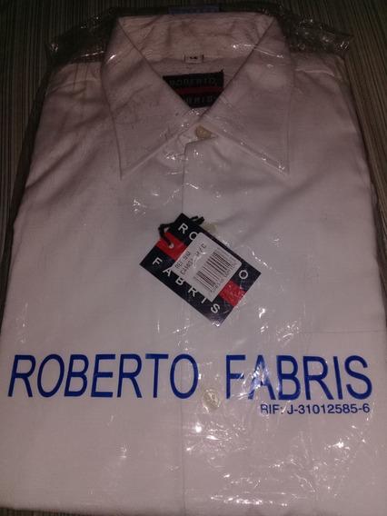 Camisa Blanca Escolar Roberto Fabris Talla 14