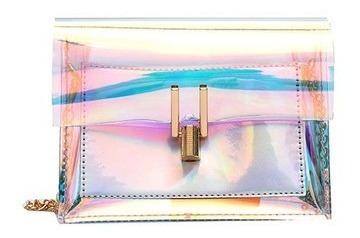 Bolsa Carteira Feminina Holográfica Colorida Promoção