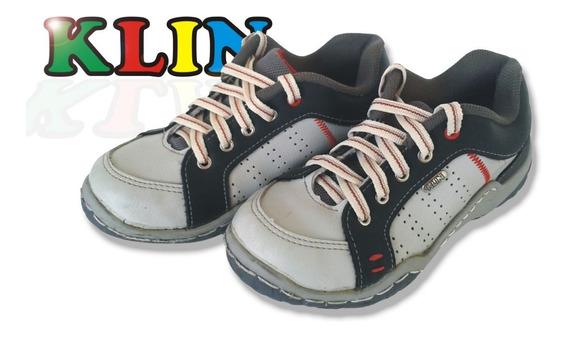 Zapatos Anatómicos Klin Para Niños Talla 34 Usados