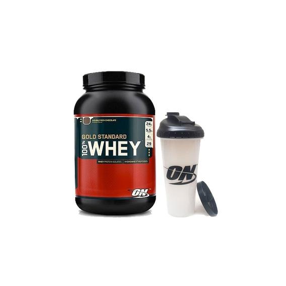 Whey Gold Standard X 2 Lb + Vaso - Optimum Nutrition