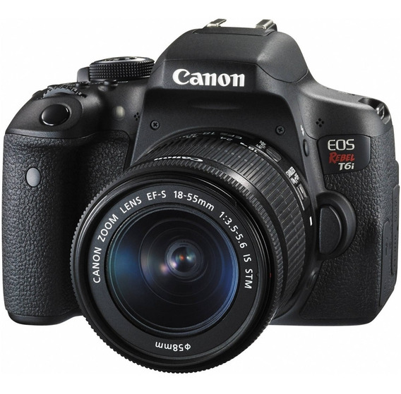 Câmera Canon T6i Kit 18-55mm Stm C/ Nf