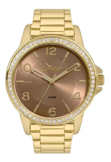 Relógio Feminino Condor Analógico Co2035kwn/k4m Dourado