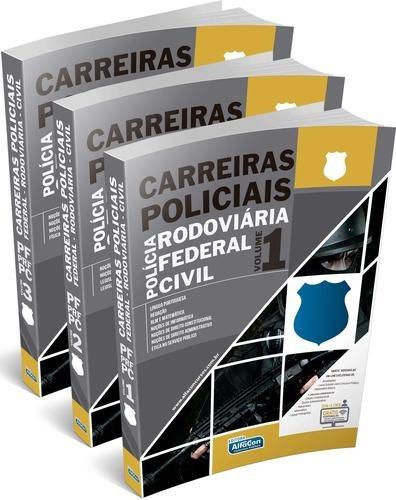 Carreiras Policiais Apostilas - Frete Grátis - Alfacon