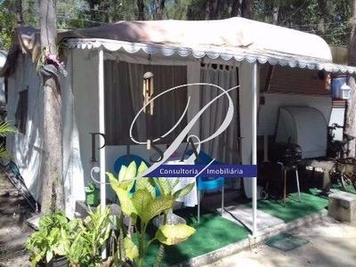 Trailler No Camping Clube Do Brasil - Para 6 Pessoas - Ca00525