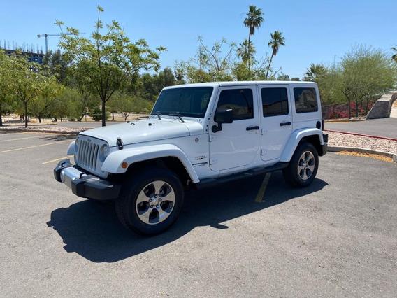 Jeep Wrangler Sahara 2018 4x4