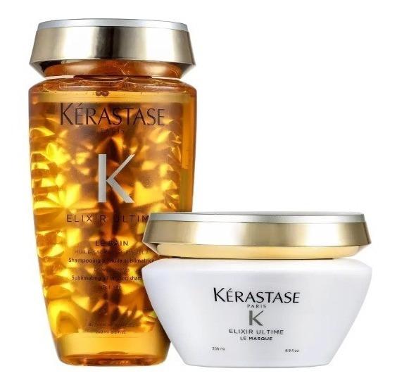 Kit Kérastase Elixir Ultime Masque (2 Produtos) Shampoo+masc