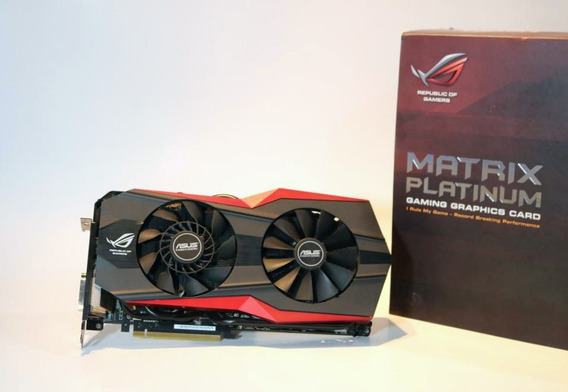Nvidia Geforce Gtx 980 Matrix Platinum Asus - Poco Uso