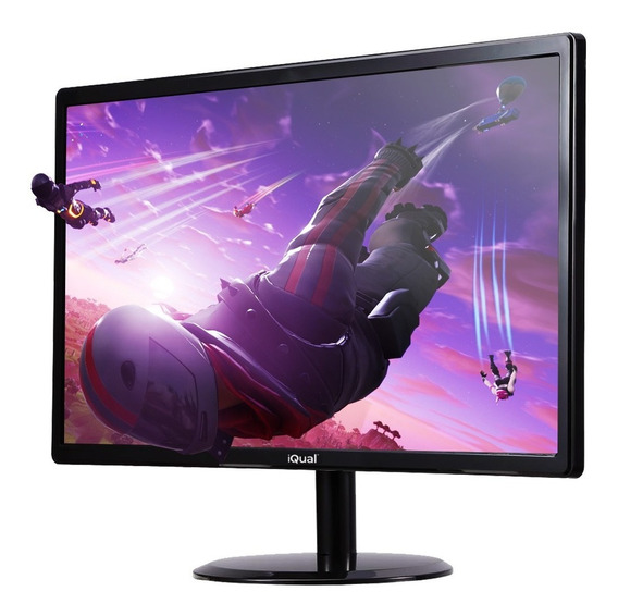 Monitor Led 24 Pulgadas Iqual Iq24h 1080p Hdmi Full Hd Gtia