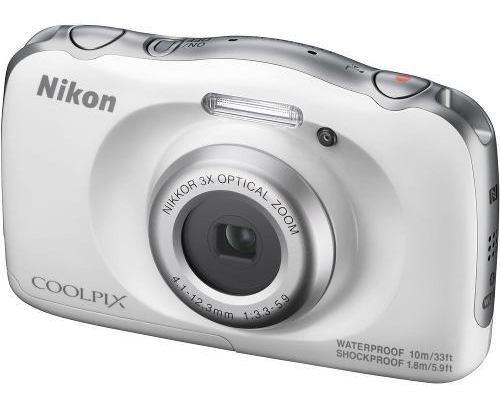Câmera Digital Nikon Coolpix W100 Branco