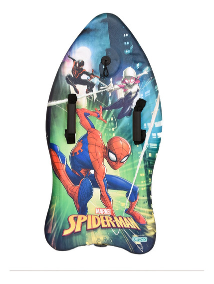 Spiderman Body Board Prints 90cm Original Ditoys