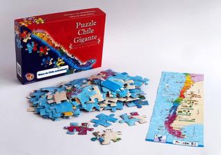 Puzzle Chile Gigante 2013