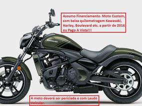Kawasaki Ou Custom Procuro Para Meu Uso.assumo Divida/compro