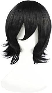 C-zofek Undertale Mettaton Ex Cosplay Short Wig (black)