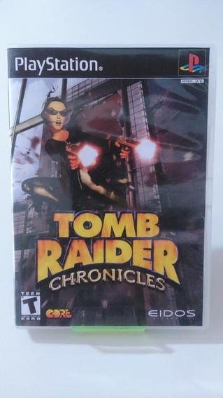 Jogo Tomb Raider Chronicles ( Patch ) Ps1
