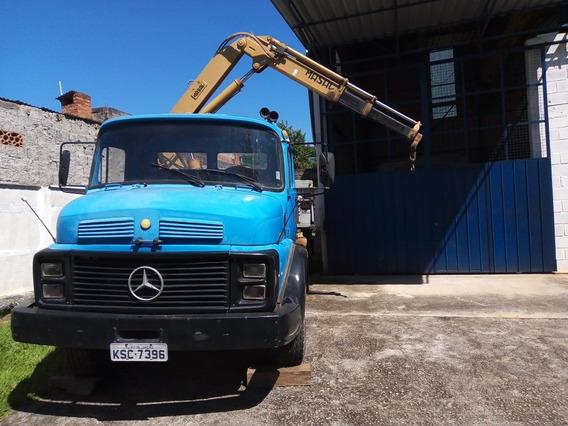 Mercedes-benz 1113 Com Munck Masal 6500