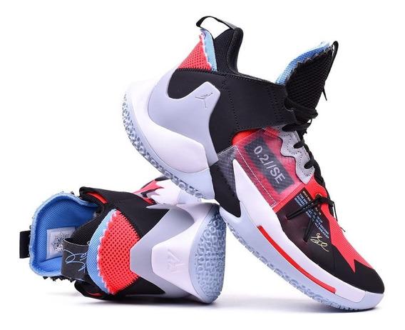 Tenis Jordan Why Not Zer0.2 Se Negro, Gris, Rojo,nuevos,orig