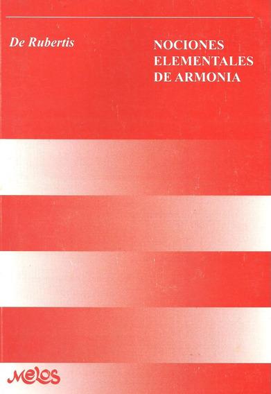Nociones Elementales De Armonia De Rubertis