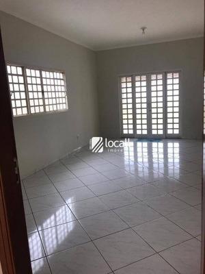 Casa Com 3 Dormitórios Para Alugar, 160 M² Por R$ 2.500/mês - Jardim Maracanã - São José Do Rio Preto/sp - Ca1925